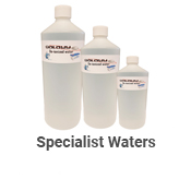 Specialist Waters - Deionised Water
